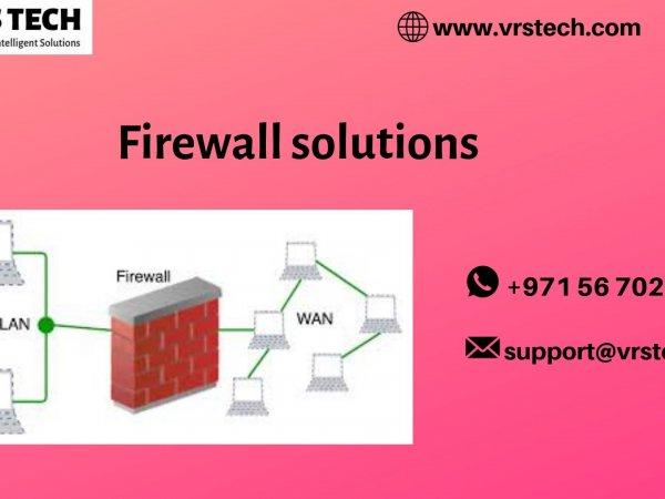 Firewall Solutions Dubai - Firewall Network Security System in UAE