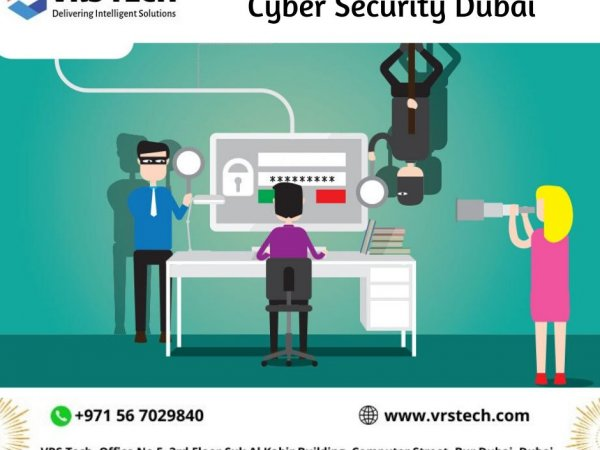 Best Cyber Security Services in Dubai - VRS Tech