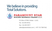 Paramount Star Building Materials Trading LLC